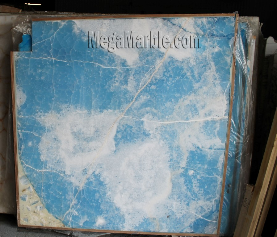 Blue Onyx For Countertops Slabs