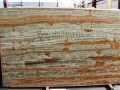 Dark Green Onyx Polished For Countertops Slabs